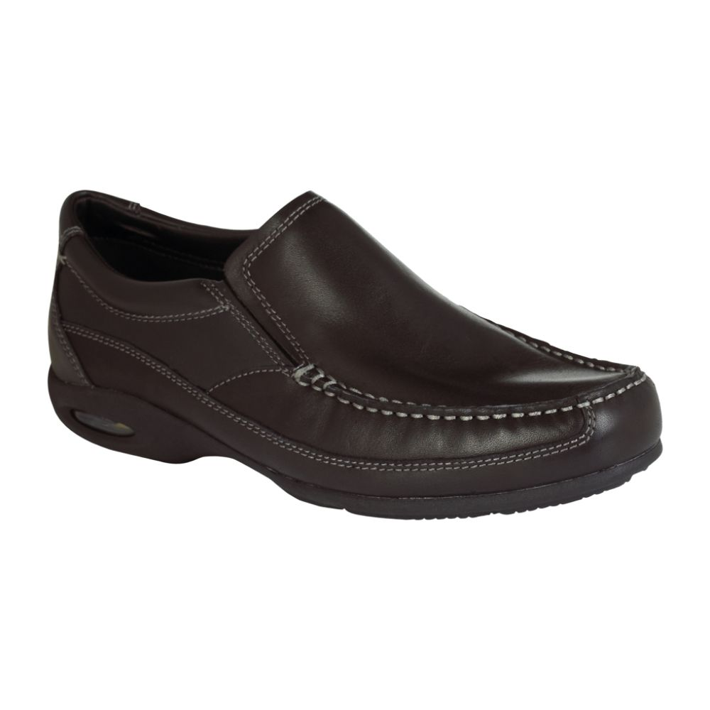 Thom McAn Men's Thompson Casual Step In Loafer - Black $ 29.99