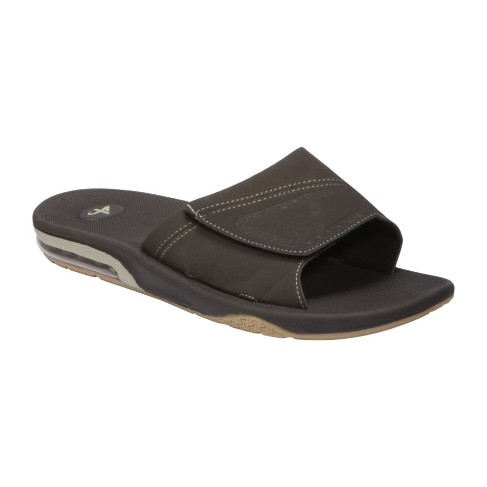 Athletech Men's Markus Air Bubble Sandal - Brown $ 9.99