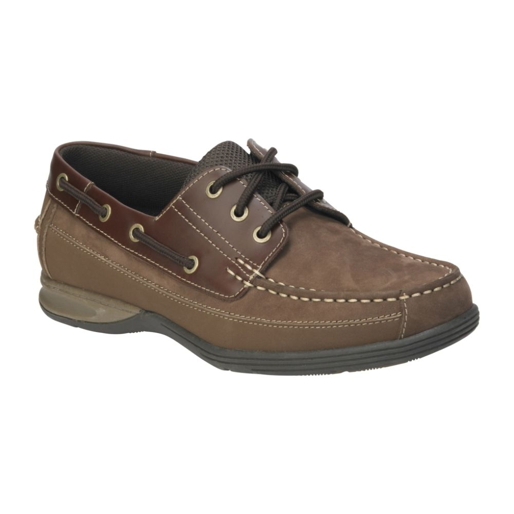 Thom McAn Men's Mast Low Profile Boat Shoe - Brown $ 34.99