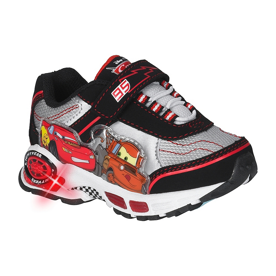 Toddler Boys Cars Lighted Jogger   Black  Disney Shoes Kids Toddlers