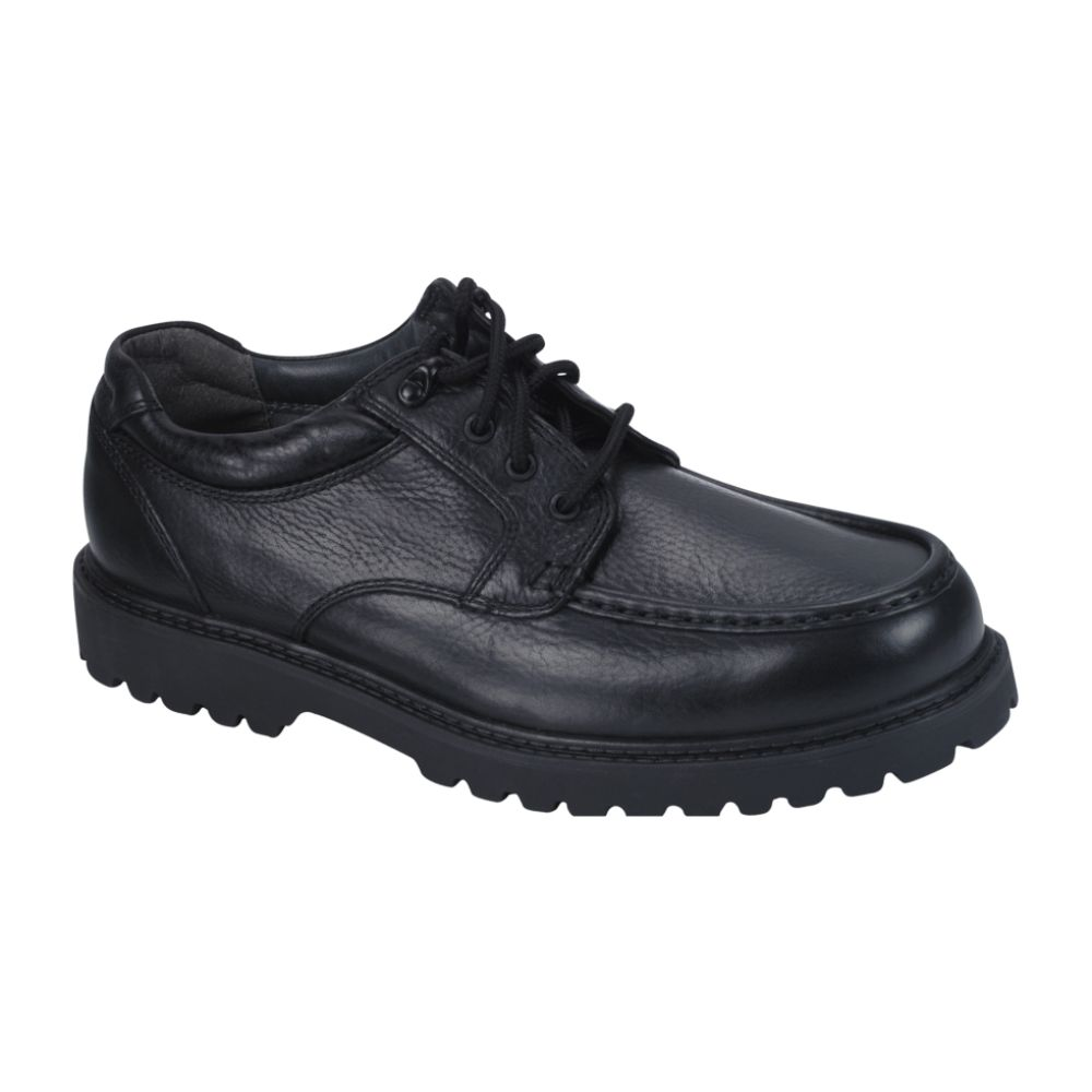Thom McAn Men's Kolton Moccasin Oxford WW - Black Black $ 34.99