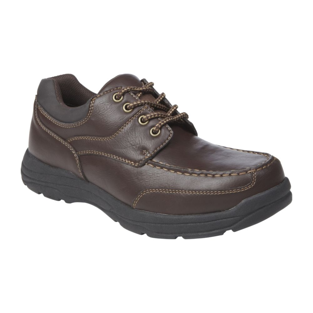 Route 66 Men's Jeremy Moc Toe Oxford - Brown