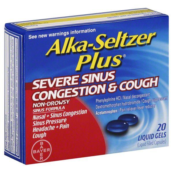 Tylenol Sinus Congestion & Pain Severe.
