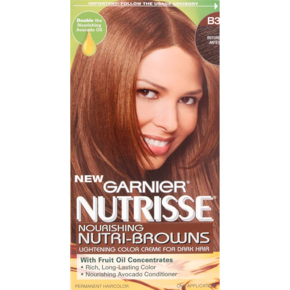 garnier hair color dark brown. nutrisse review hair dye
