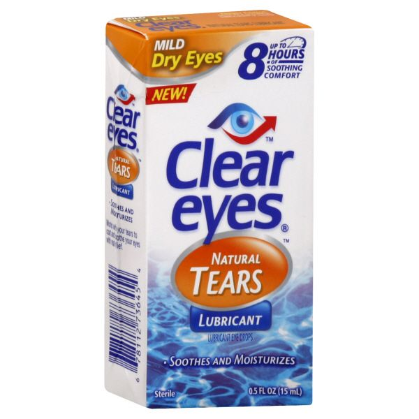 natural eye drops  dry eyes