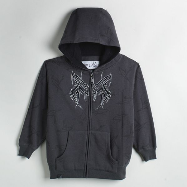 Top Heavy Boys 4 7 Unlined Spikodie Screen Hoodie