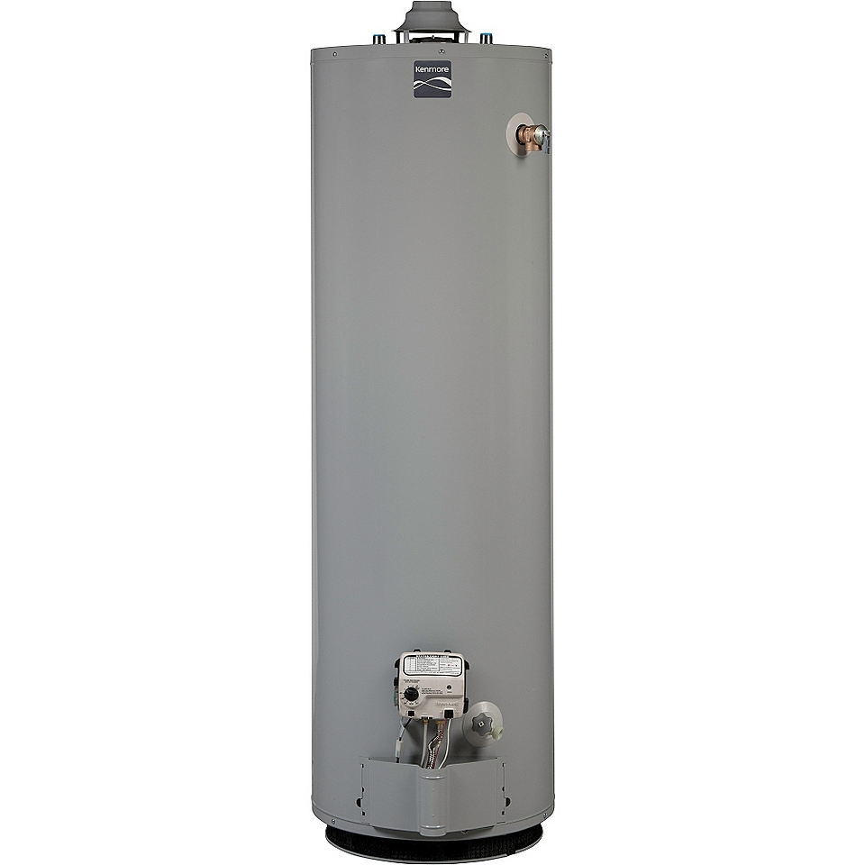 40 gal. Gas Water Heater  Kenmore Appliances Water Heaters Natural Gas