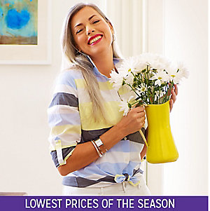 Fresh fashions, starting at $9.88