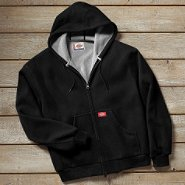 Dickies Men's Waffle Knit Jacket Black at Sears.com