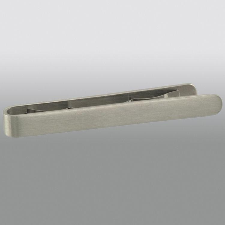 Silvertone Stainless Steel Tie Bar