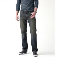 Signature by Levi Strauss & Co. Men's Slim Straight Jeans at Kmart.com