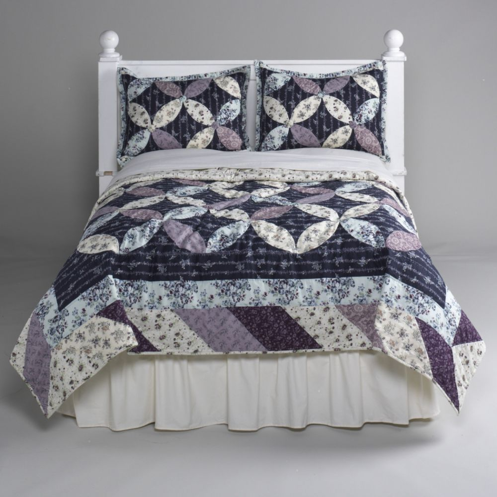 Country Living Provincial Garden Quilt Set from Kmart.