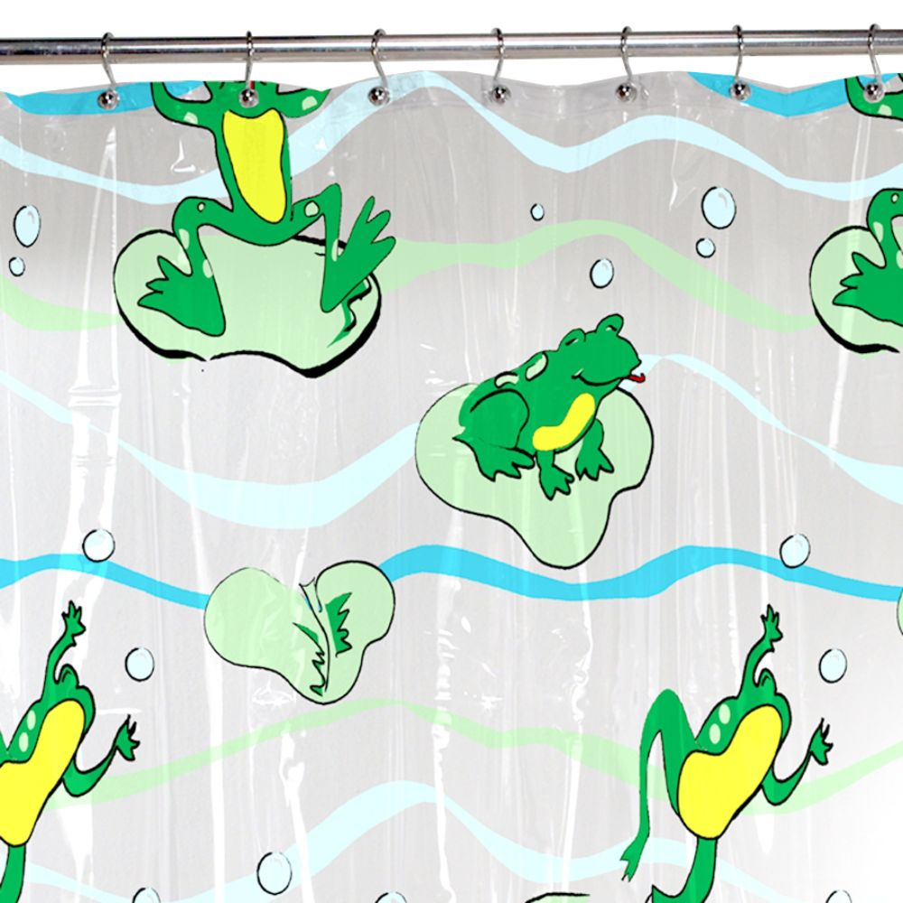 Maytex Leap Frog Vinyl Shower Curtain | Compare price and get ...