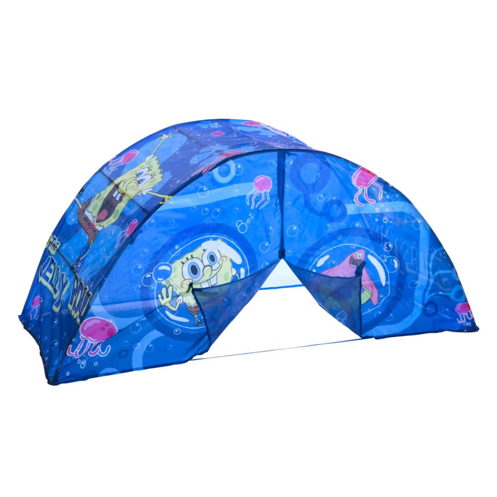 Toddler  Tents on Nickelodeon Spongebob Bed Tent With Bonus Pushlight Reviews   Mysears