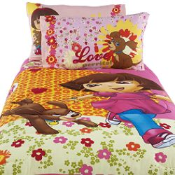 Girl Bedroom Ideas: Dora the Explorer and Puppy - Totally Kids ...