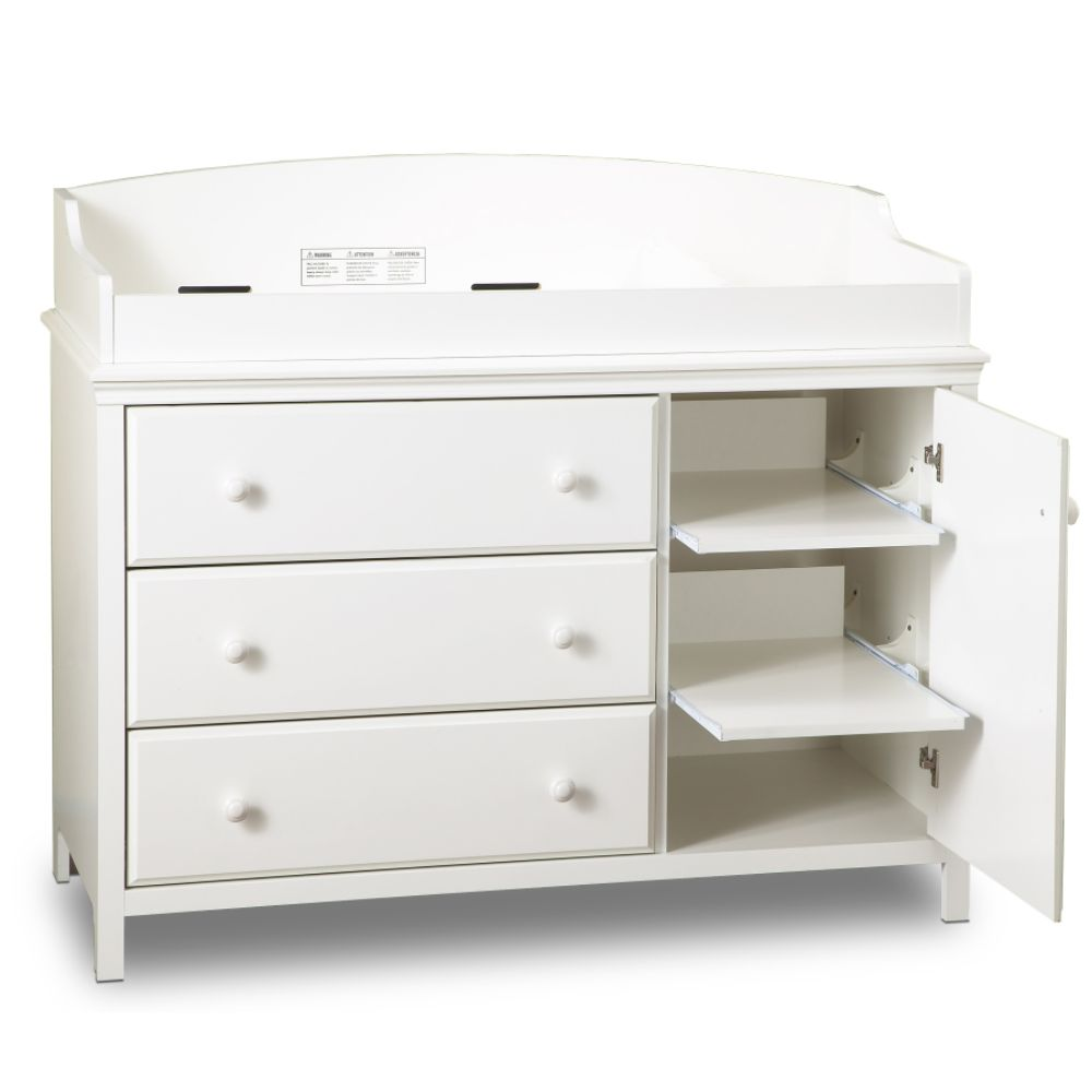 Kmart white dresser changer