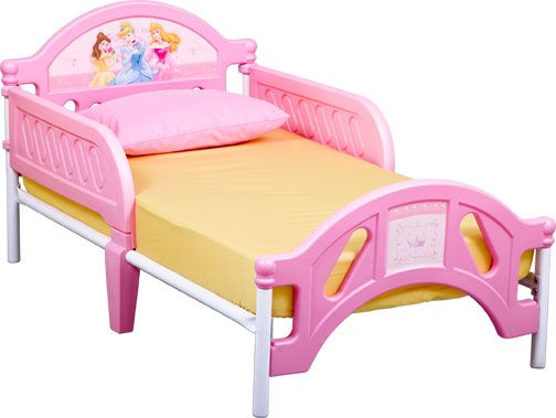 Delta Childrens Disney Princess Pretty Pink Toddler Bed
