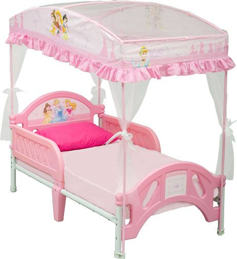 Delta Childrens Disney Princess Toddler Bed with Canopy