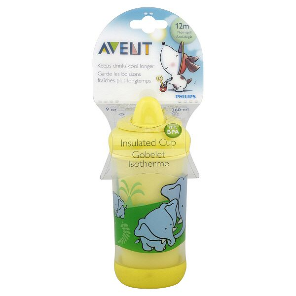 Avent Insulated Cup 9 Oz 12 M 1 Cup