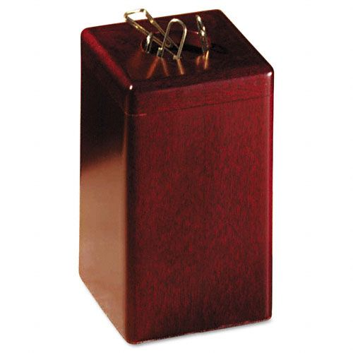 Rolodex Wood Tones Paper Clip Holder $ 8.68