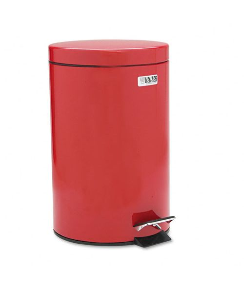 Commercial 3.5 Gal Steel Step Can