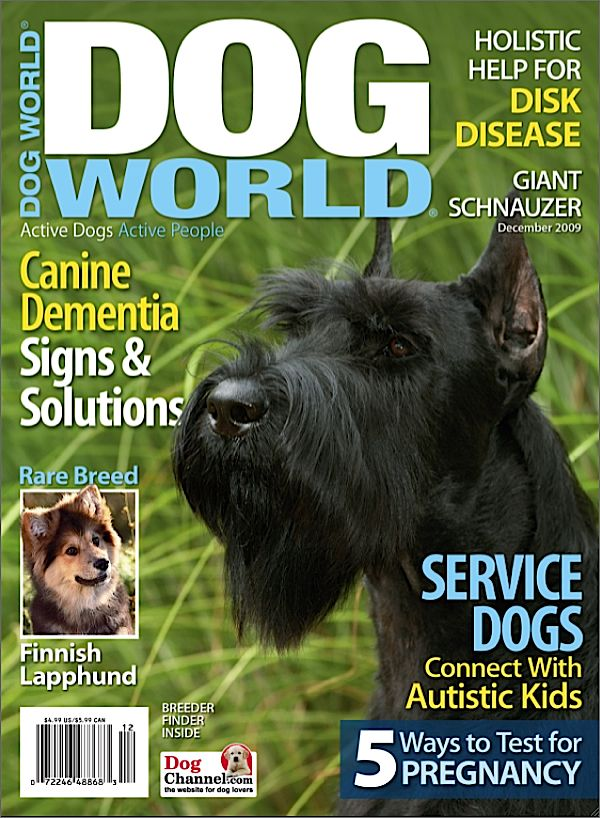 Dog World Magazine $ 15.00