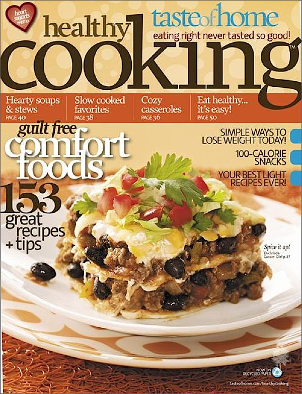 Kmart com Taste of Home Healthy Cooking Magazine Kmart com