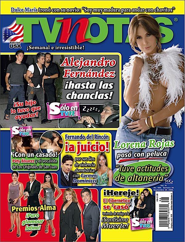 TVNotas Magazine $ 39.99