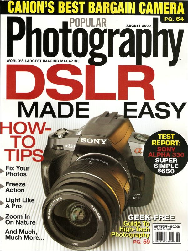 Popular Photography & Imaging Magazine $ 14.00