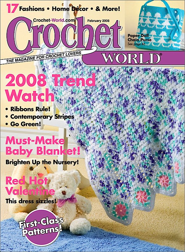 Crochet World Magazine $ 19.97