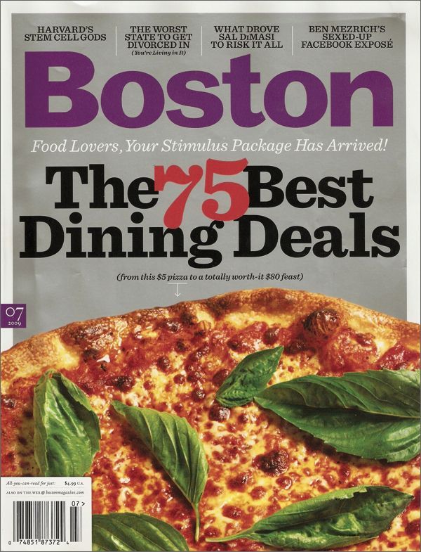 Boston Magazine $ 9.95