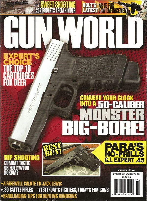 Gun World Magazine $ 21.95