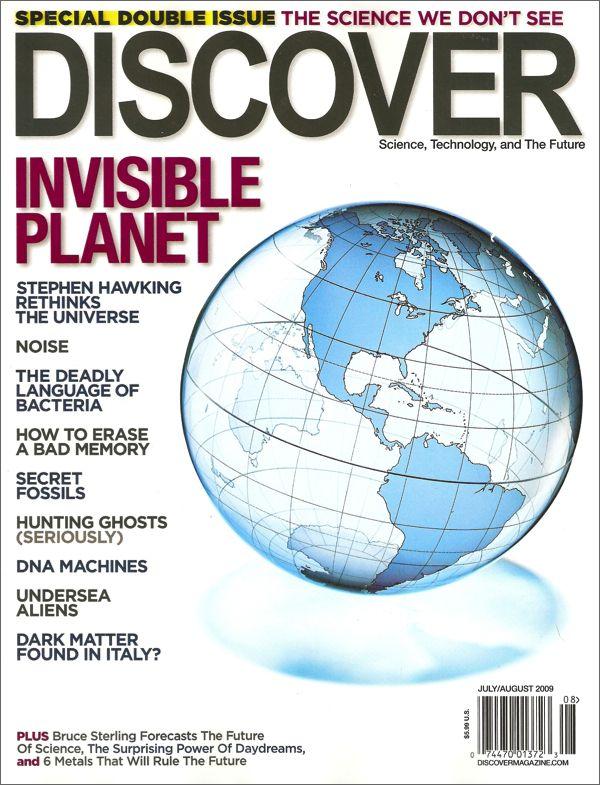 Discover Magazine $ 19.95