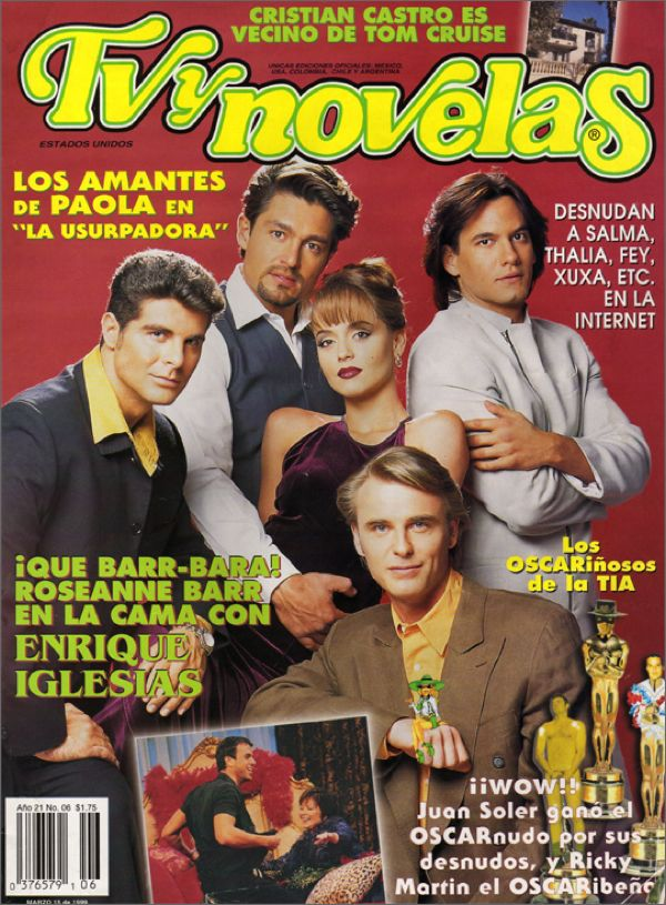 TV y Novelas Magazine $ 21.50