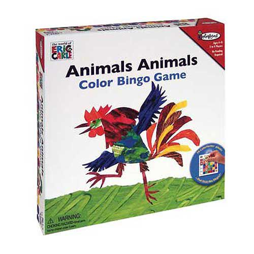 University Games Animals, Animals Colors Bingo Game