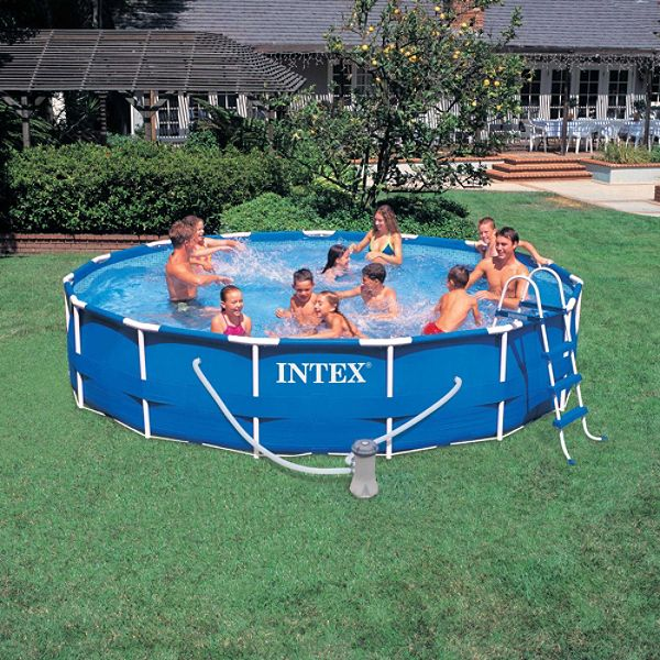 A picture of the cheapest in ground swimming pool joy for Discount above ground pools