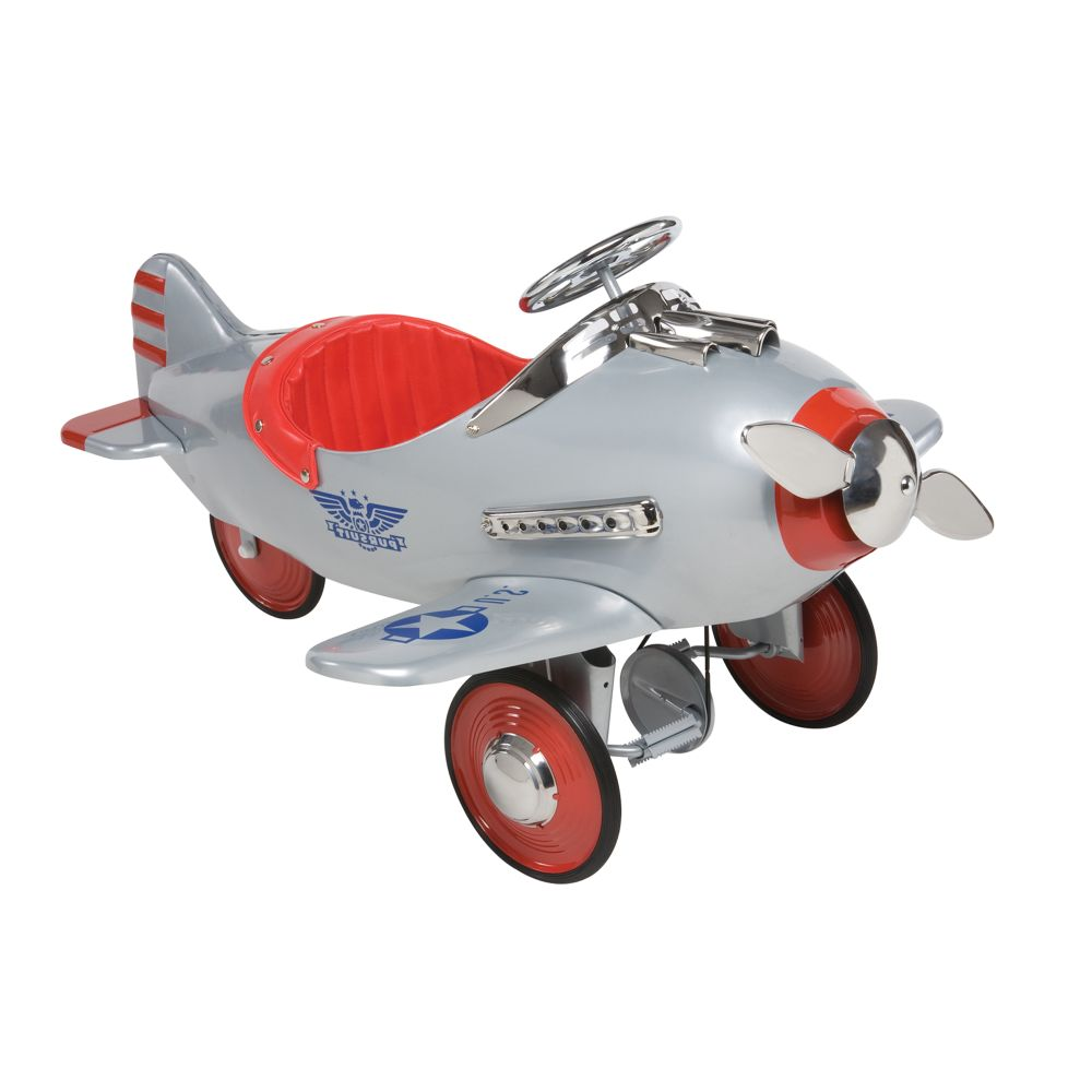 Air Flow Silver Pursuit Pedal Plane