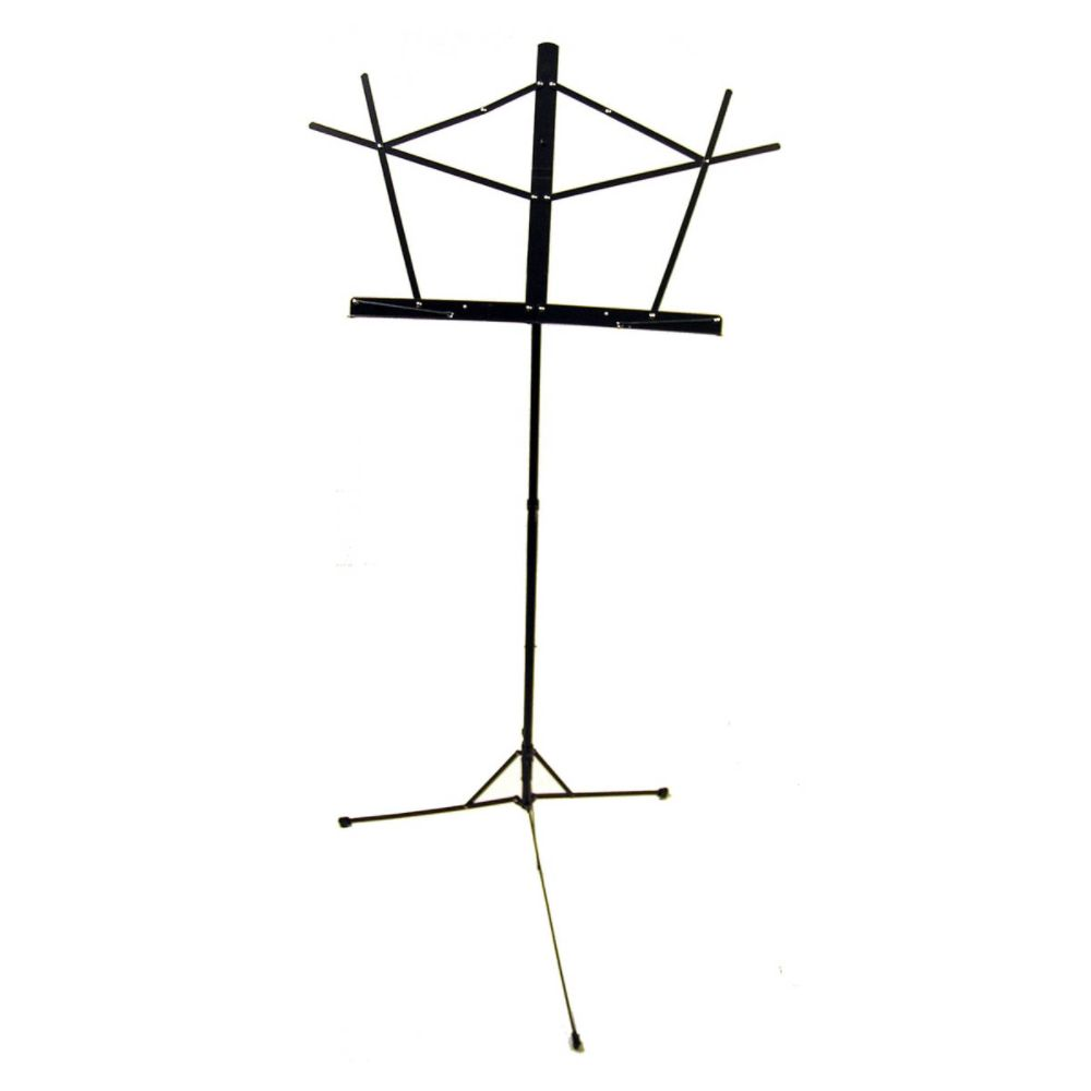 On Stage Folding Music Stand, Black