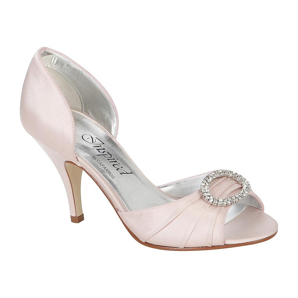 ladies's glitter get dressed footwear
