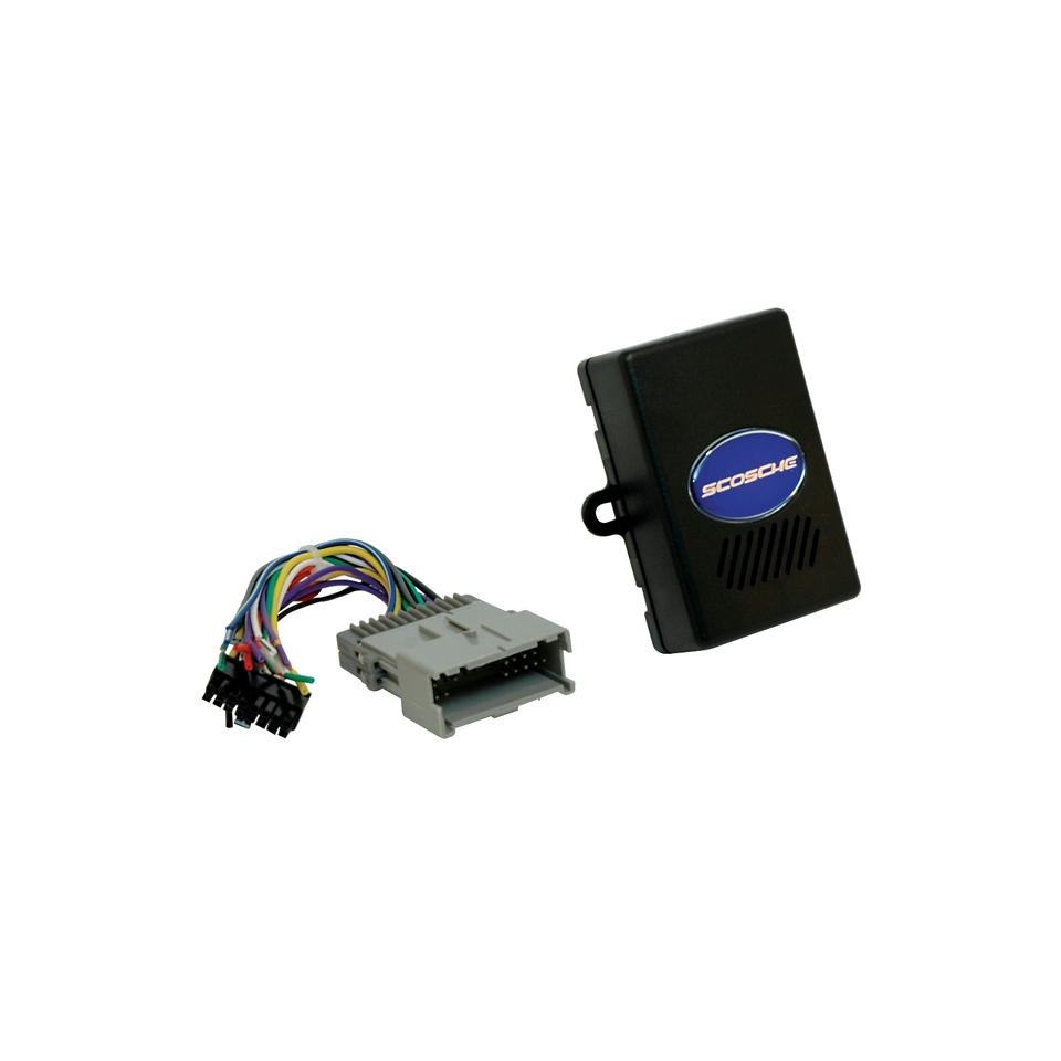 Scosche 2000 UP GM RADIO REPLACEMENT INTERFACE W INTEGRATED   GM2000