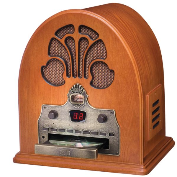 Crosley Cathedral CD Player With AM/FM