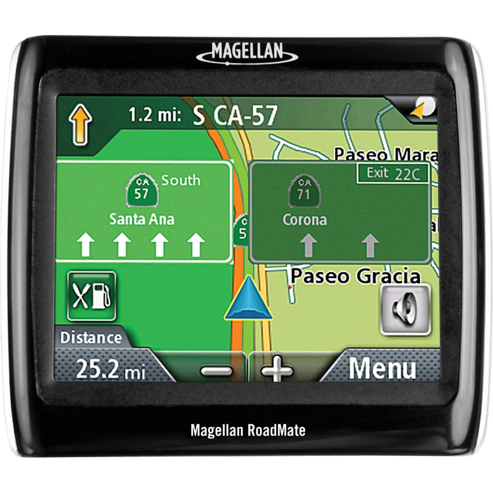 Magellan Roadmate 1340, 3.5 in. touchscreen display, GPS navigation system