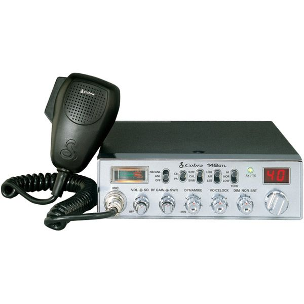 Cobra Classic AM/SSB CB Radio with Dynamike Gain Control