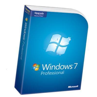 Microsoft Windows 7 Professional Upgrade Microsoft