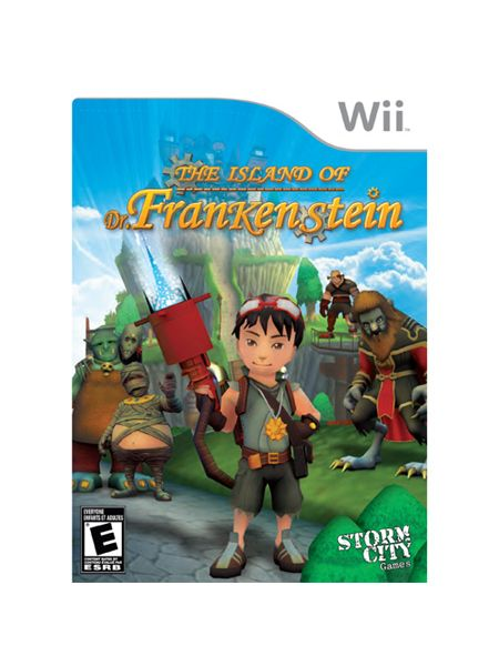 Storm City Games Island of Dr. Frankenstein for Nintendo Wii