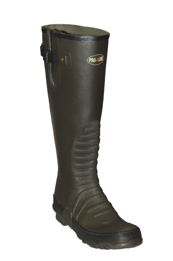 Pro Line Men's Trapper Ankle Fit Rubber Knee Boot Green