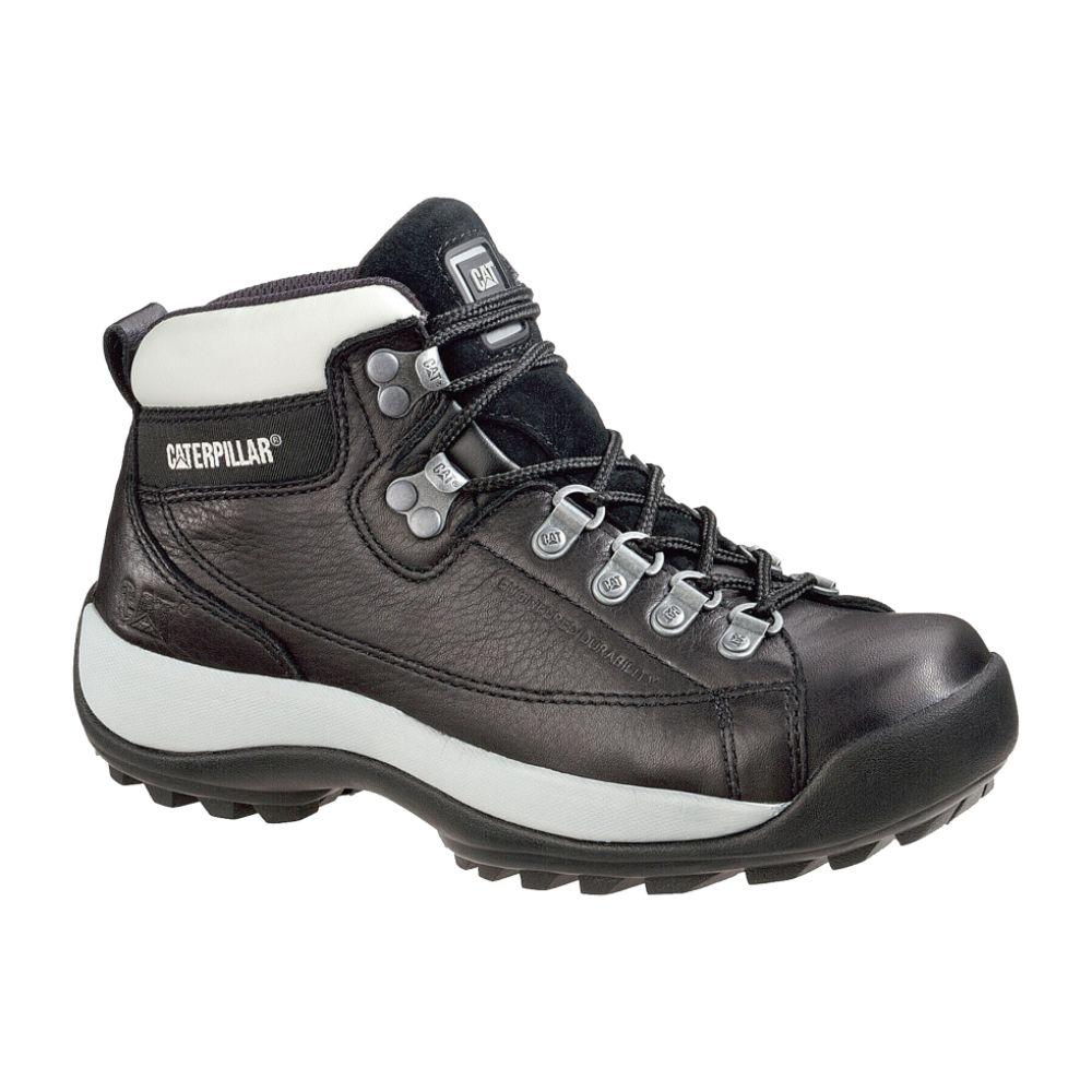 cat footwear s boots alaska leather steel toe black