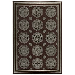 Jaclyn Smith Traditions-Medallion Rug Collection