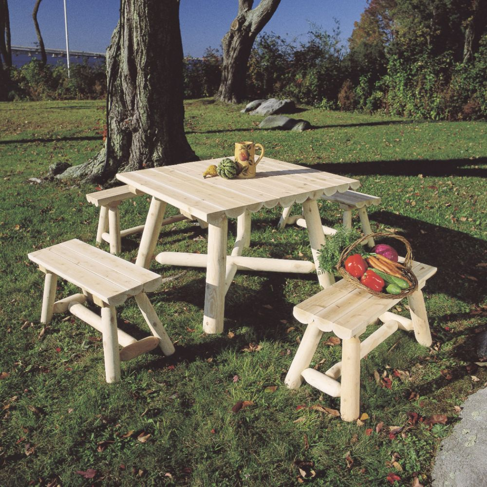 Rustic Outdoor Tables