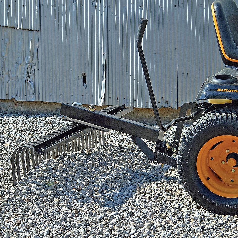 County Line Landscape Rake Tines : Tractor landscape rakefor garden submited images pic fly